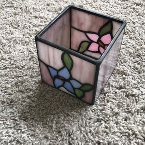 Other - Tiffany glass-style desk ornament